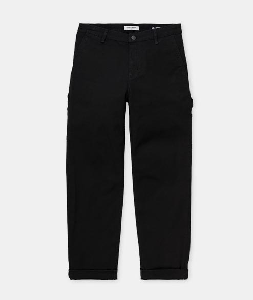 Carhartt WIP - W Pierce Pant - Black Rinsed