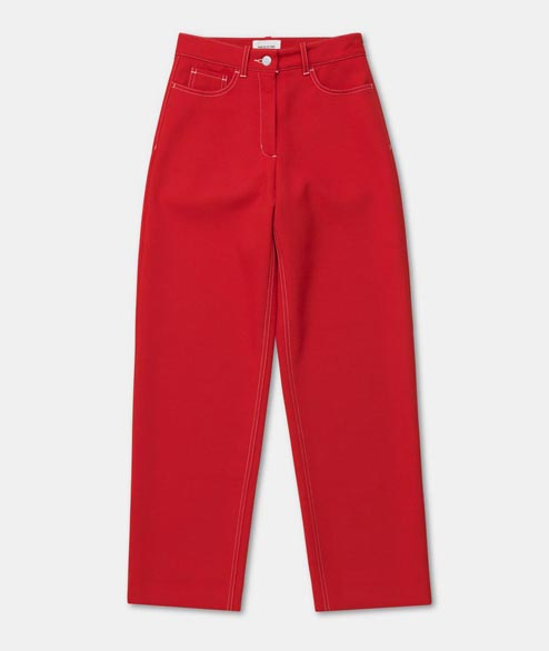Wood Wood - W Althea Trousers - Red