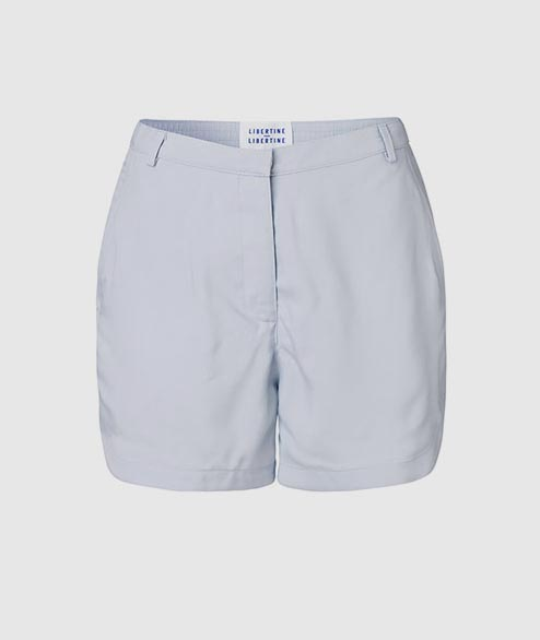 Libertine Libertine - W Burn Short - Sky Blue