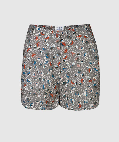 Libertine Libertine - W Burn Short - Light Grey