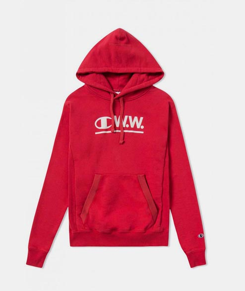 Champion by Wood Wood - W Ilona Hoodie - Red
