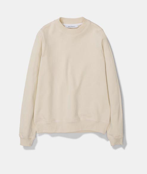 Norse Projects - W Erna Cotton Sweat - Sand