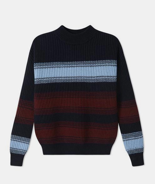 Wood Wood - W Felicia Sweater - Navy Stripe