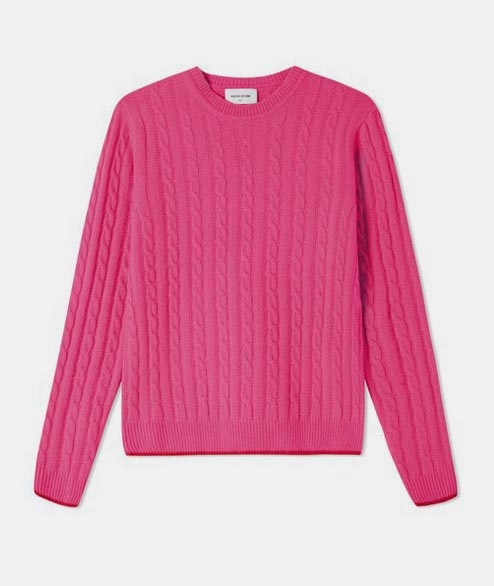 Wood Wood - W Mare Sweater - Pink
