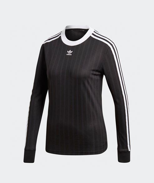 Adidas originals - W 3 STR Longsleeve - Black