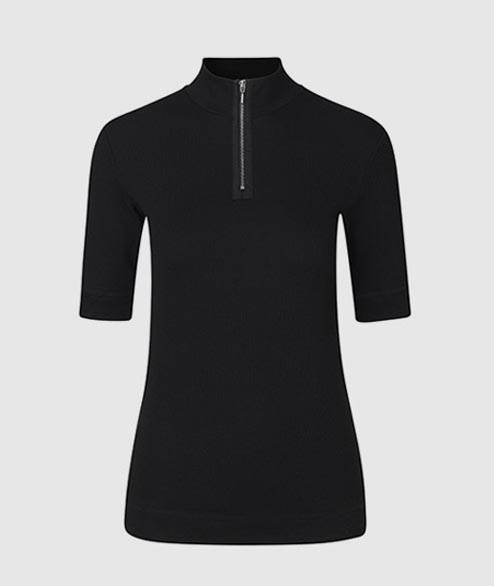 Libertine Libertine - W Visual Top - Black