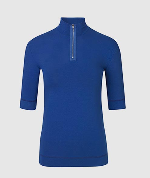 Libertine Libertine - W Visual Top - HQ Blue