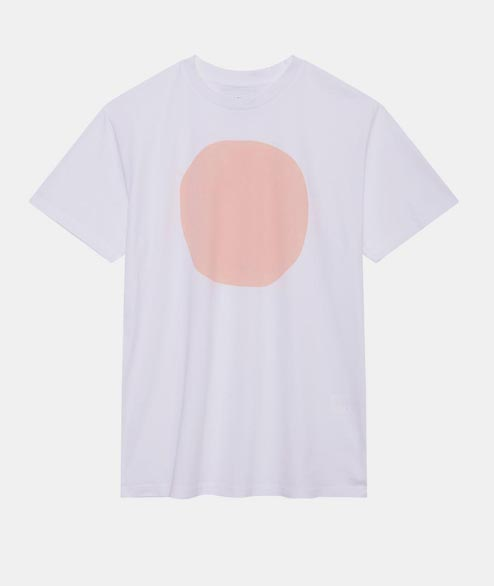 Loreak - W Puntazo T Shirt - White Light Pink