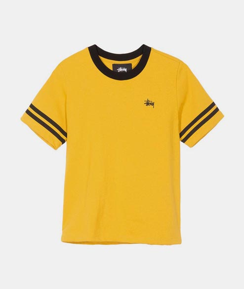 Stussy - W Ava Athletic Tee - Gold