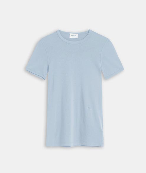 Wood Wood - W Fia T Shirt - Light Blue