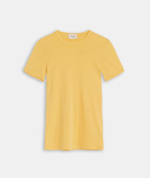 Wood Wood - W Fia T Shirt - Yellow