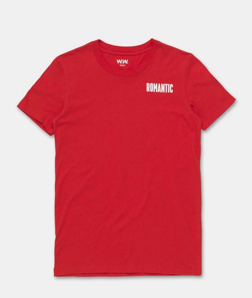 Wood Wood - W Eden T-Shirt - High Risk Red