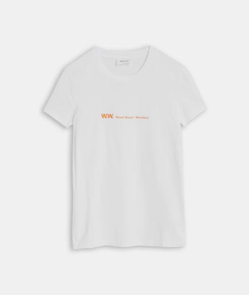 Wood Wood - W Eden T Shirt - Bright White