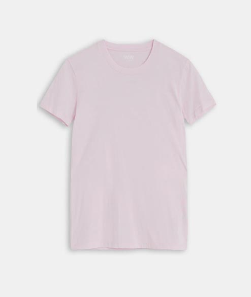 Wood Wood - W Eden T Shirt - Light Pink