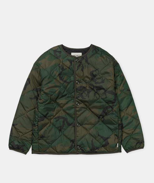Carhartt WIP - W Laxey Liner - Camo Combat Green