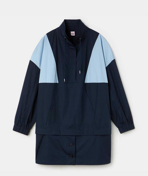 Lacoste Live - W Jacket Dress - Navy Blue