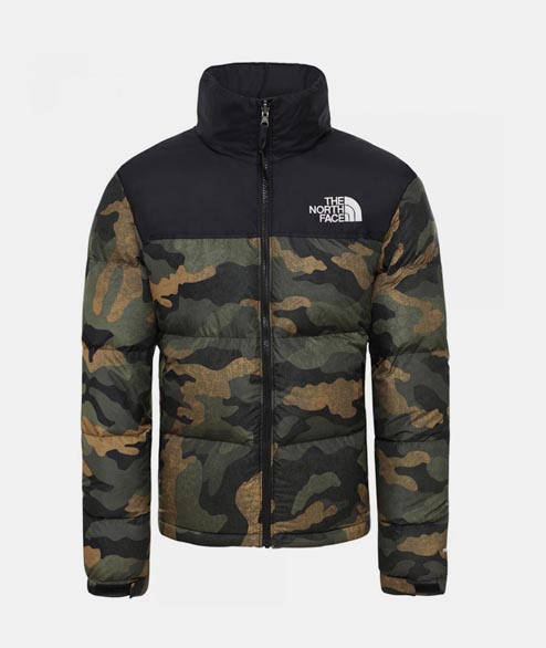 The North Face - W 1996 Nuptse Jacket - Camo Black