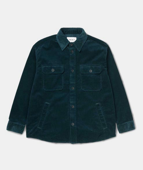 Carhartt WIP - W Erie Shirt Jac - Duck Blue