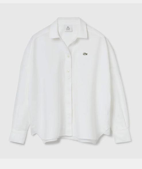 Lacoste Live - W Classic LS Shirt - White