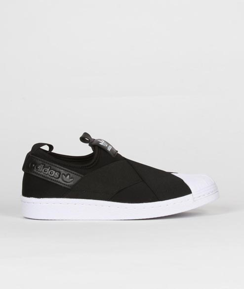 Adidas originals - W Superstar Slip On - Black White