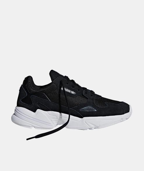 Adidas originals - W Falcon - Black White