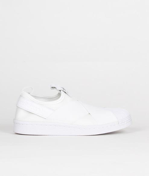 Adidas originals - W Superstar Slip On - White White