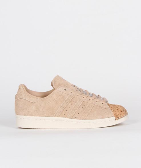 Adidas originals - W SuperStar 80s Cork - Pale Nude off White
