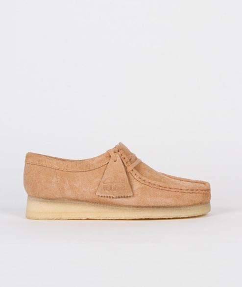 Clarks Originals - W Wallabee - Fudge Suede