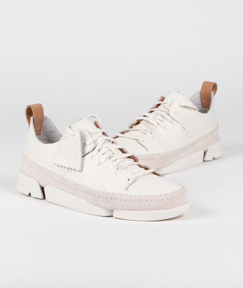 Clarks Originals - W Trigenic Flex - White Nubuck
