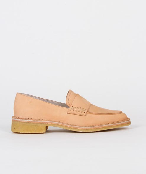 Clarks Originals - W Friya Loafer - Natural Veg Tan Leather