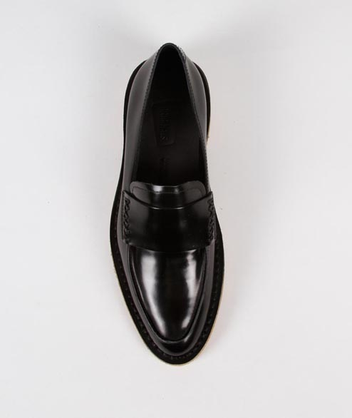 Clarks Originals - W Friya Loafer - Black Leather