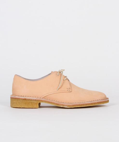 Clarks Originals - W Friya Point - Natural Veg Tan Leather