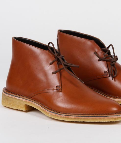 Clarks Originals - W Friya Desert - Chesnut Leather