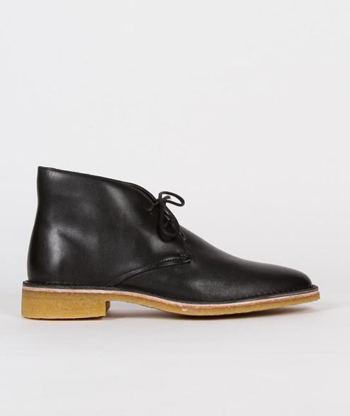 Clarks Originals - W Friya Deert - Black Leather