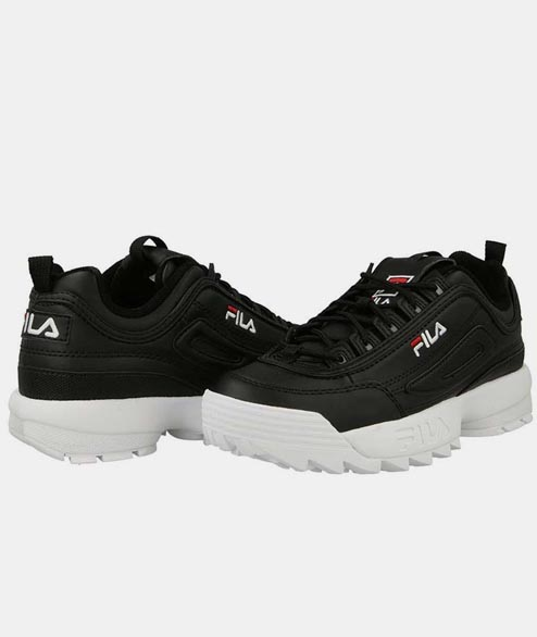 FILA - W Disruptor Low - Black