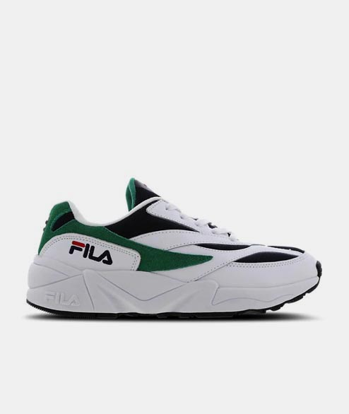 FILA - W V94M - White Navy Green