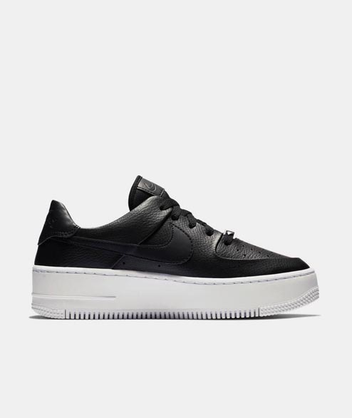 Nike Sportswear - W Air Force 1 Sage Low - Black Black