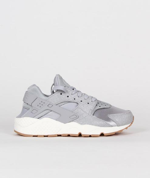 Nike Sportswear - W Air Huarache Run PRM - Wolf Grey