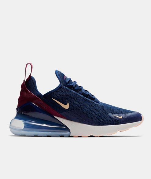 Nike Sportswear - W Air Max 270 - Blue Void Crimson Tint