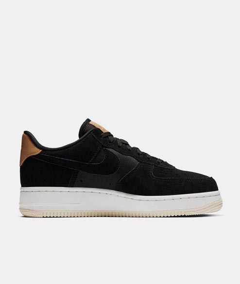 Nike Sportswear - W Air Force 1 PRM - Black Black
