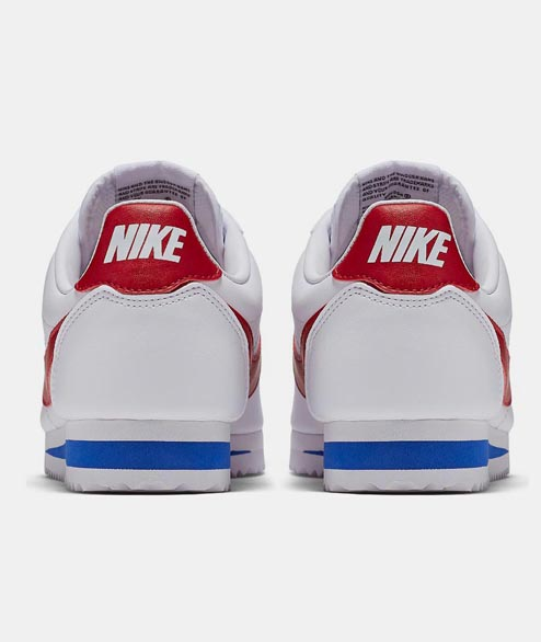 Nike Sportswear - W Classic Cortez Leather - White Red