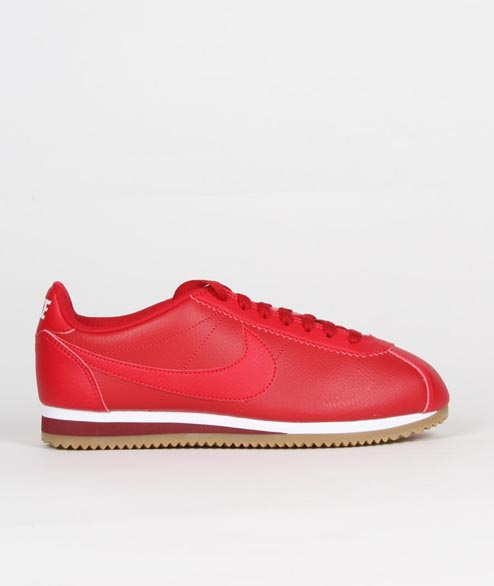 Nike Sportswear - W Classic Cortez Leather - Gym Red