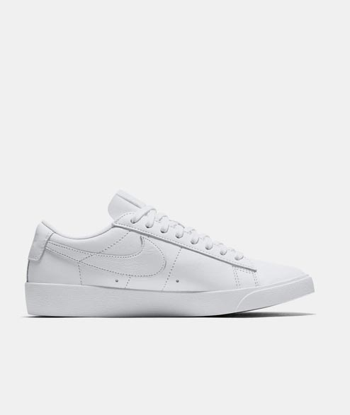 Nike Sportswear - W Blazer Low Leather - White White