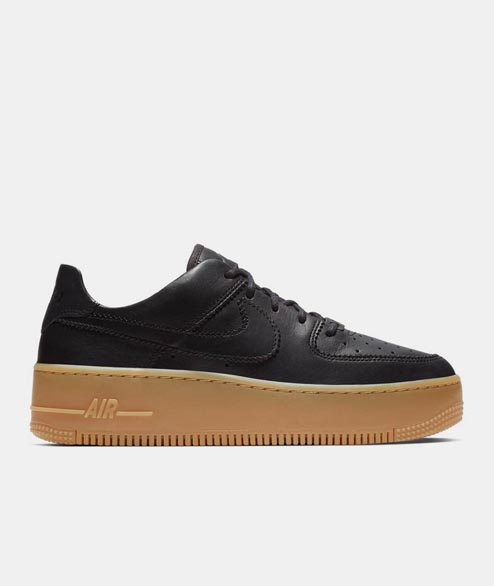 Nike Sportswear - W Air Force 1 Sage Low - Oil Grey Gum