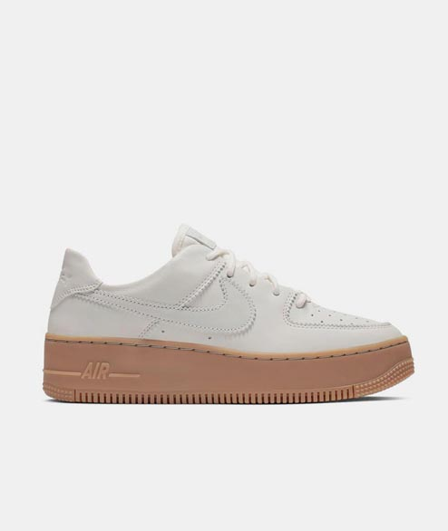 Nike Sportswear - W Air Force 1 Sage Low LX - Pale Ivory