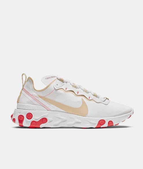 Nike Sportswear - W React Element 55 - White Desert