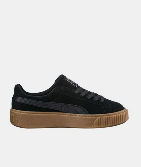 Puma - W Suede Platform Animal - Black