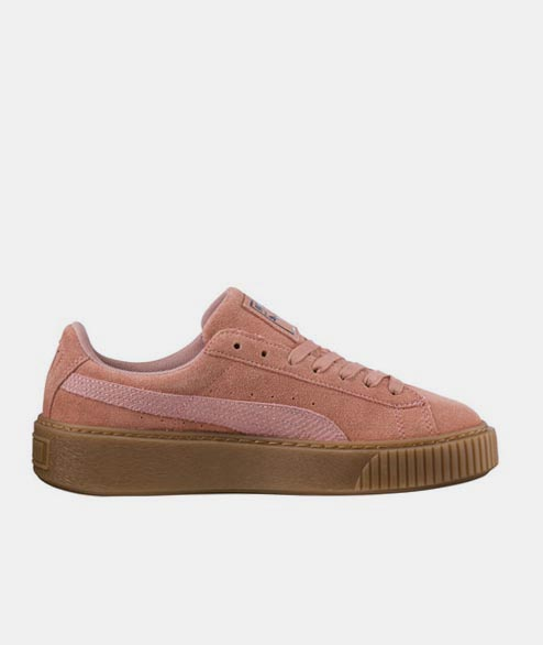 PUMA - W Suede Platform Animal - Brown