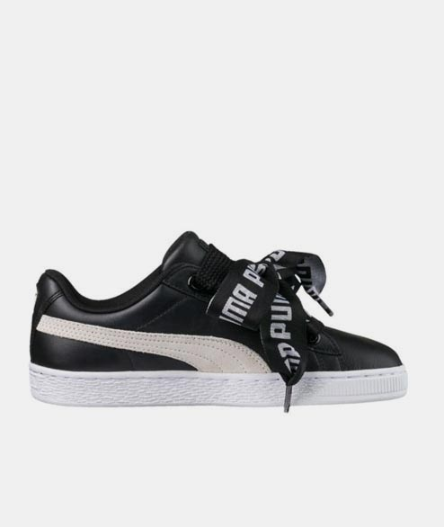 PUMA - W Basket DE - Black