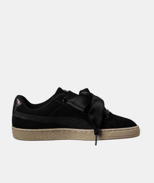 PUMA - W Suede Safari - Black